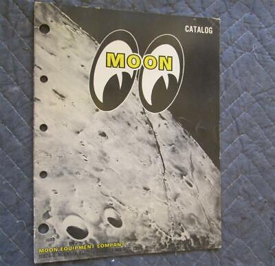 1970? Moon Speed Equipment Catalog Hot Rod Race Car Parts REAL DEAL Original WOW