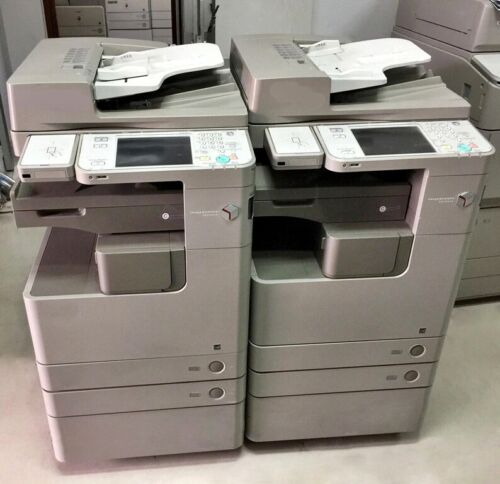 Canon Imagerunner Advance 4235 Mono A3 Laser Mfp Printer Copier Scanner 35 Ppm