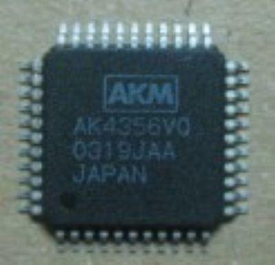 Akm Ak4356vq Qfp 192khz 24 Bit Ix-channel Dac For