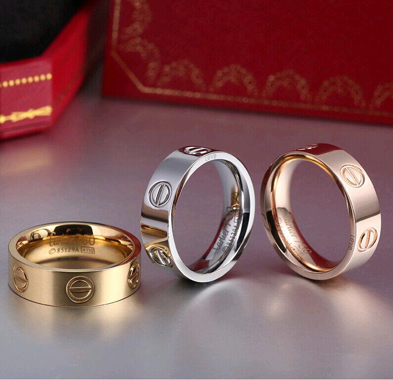 Ring - Unisex Men Women's Stainless Steel Fashion Love Rings Screw Screwdriver Ring