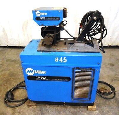 Miller Constant Voltage Dc Welding Power Source Cp-300 Mig Welder W S-54e