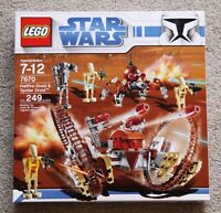 Lego Star Wars: Hailfire Droid & Spider Droid Set #7670 (2008)