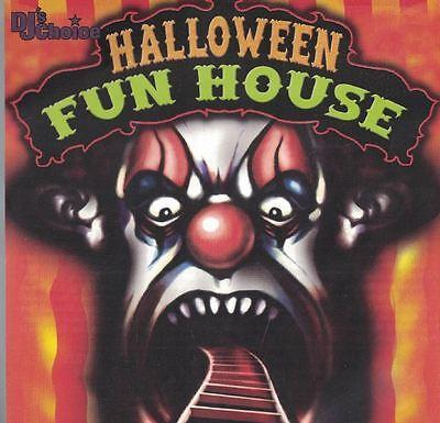 Halloween Fun House Featuring The Hit Crew DJ Music CD  - Fun Halloween Music