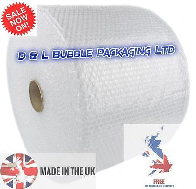 1000mm x 100m Quality Small Bubble Wrap 1m 100 metres Cushioning Wrap 1 meter