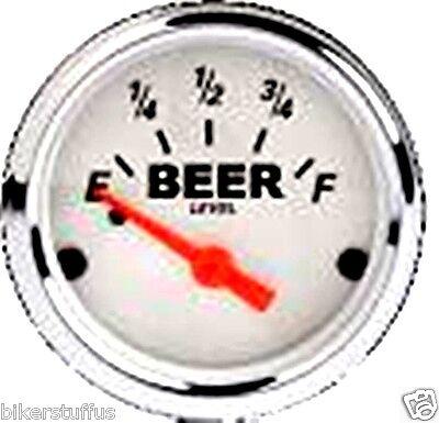 BEER GAUGE STICKER HARD HAT STICKER HELMET STICKER  LAPTOP STICKER GLASS STICKER