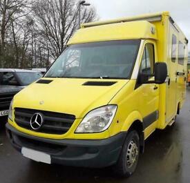 2009 59 Mercedes Sprinter 516CDi auto twin turbo Ambulance Yellow Direct NHS