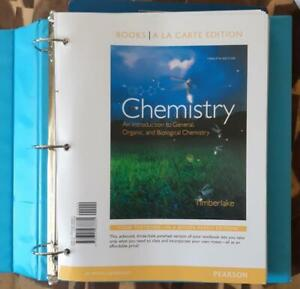 College Chemistry Text Books