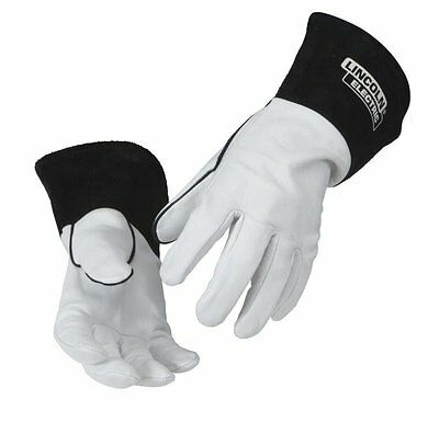Lincoln Electric Leather Tig Welding Gloves K2981 M Lg Medium Large Red Line Xl