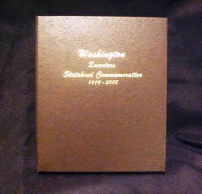 1999 2009 Complete State   Terr Quarter Set 112 P D Bu Coins In A Dansco Album