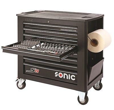 Licht, Starke Holz (Sonic Werkstattwagen S11 Schaumeinlagen mit 644 Teilen Farbe schwarz)