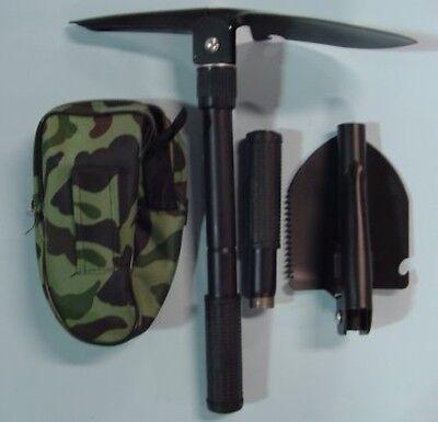 Folding Military Shovel Survival Spade Emergency Garden Camping Outdoor Tool