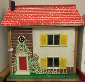Rare Vintage Early 1970s Toy Works Dolls House