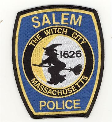 Massachusetts Salem Police Department Patch Halloween Witch (5