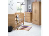 Mamas & Papas Rialto nursery furniture set