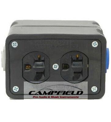 Powercon Rubber Quad Box Power Distribution Twist-lock Distro Link