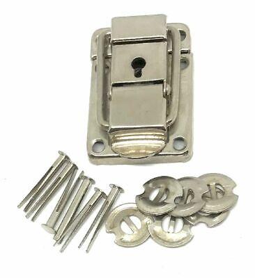 BÜGELSCHLOSS Verschluss KOFFER Riegel Lock als ERSATZTEIL unbenutzt und NEU (Schlösser Und Riegel)
