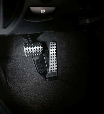 Genuine OEM Mercedes Benz C Class C205 W205 Stainless Steel Pedal Covers