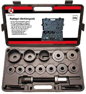 Kraftmann BGS Universal Radlager Werkzeug Satz 21-tlg. Ausbau Abzieher