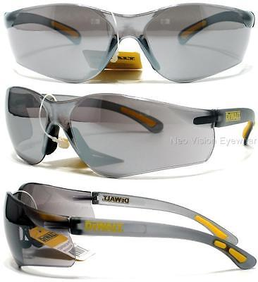 Lot Of 3 Pair Dewalt Contractor Silver Mirror Safety Glasses Sunglasses Z87