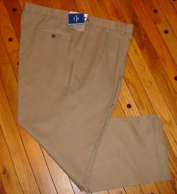 Dockers Men's Tailored Dress Chino Pleated Pants SIZES! COLORS! NWT - Tailored Dress Chino