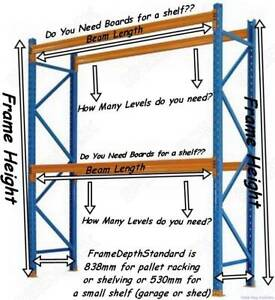 Pallet Racking/Shelving - Call now for FREE Quote!