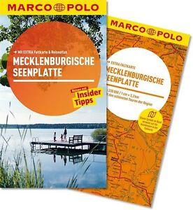 !! Mecklenburgische Seenplatte 2014 mit Karte  UNGELESEN Marco Polo Deutschland