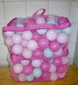 2 x bags of Playballs