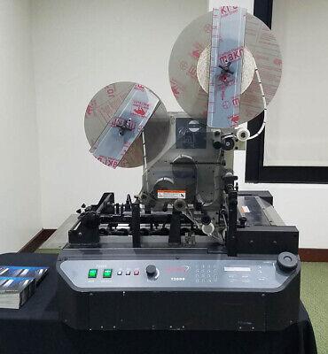 Tabbing Machine Secap T-2000 By Astro Aka Hasler Ht-30 Neopost Ta-30 Rena T-950
