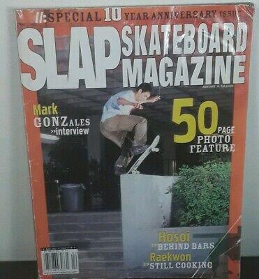 SLAP Skateboard Magazine April 2002  Thrasher Mark Gonzales interview