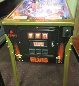 PINBALL ELVIS GOLD West Island Greater Montréal image 3