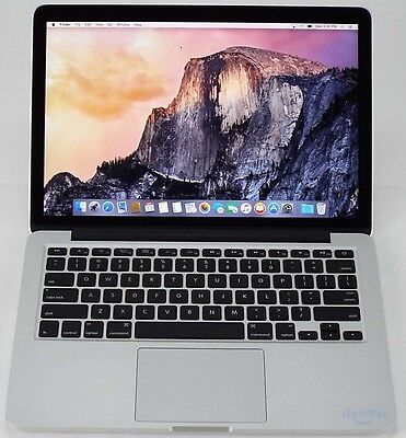 "Apple 2015 MacBook Pro Retina 13"" 2.7GHz I5 128GB SSD 8GB MF839LL/A + A Grade"