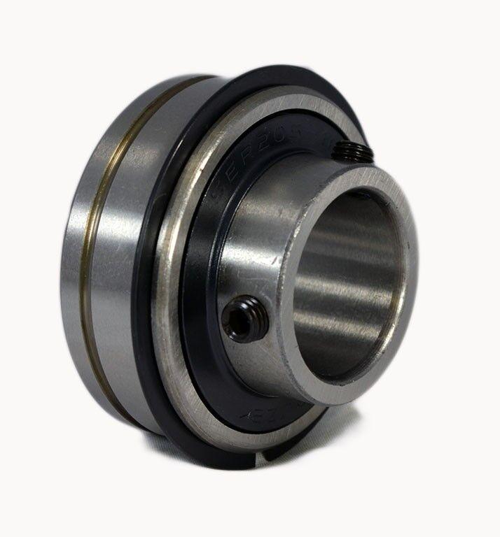 """SER204-12 SER-12 ER-12 ER12 3/4 Bore Insert Bearing with Snap Ring 3/4""""x47mm"""