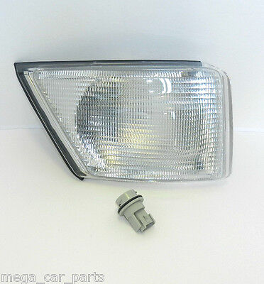 IVECO DAILY 99-06 O/S FRONT RIGHT DRIVER INDICATOR LIGHT+ BULB HOLDER - CLEAR