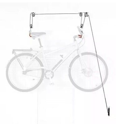 The Art of Storage 101 Easy Hoist Pulley System Road Bike Rack Mountain Bicycle