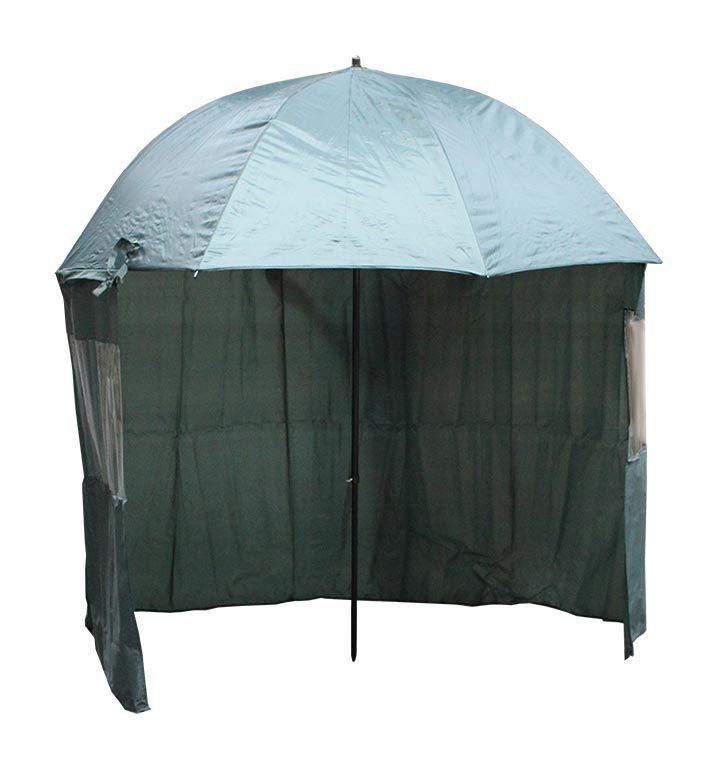 Cormoran Schirmzelt 250cm 210D mit abtrennbarer Rückwand
