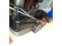 Petrol Lawnmower with Briggs & Stratton engine in excellent condition