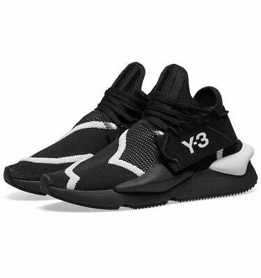 Adidas Y-3 Yohji Yamamoto Mens Kaiwa Knit Black / White Trainers MSRP $400 US 12