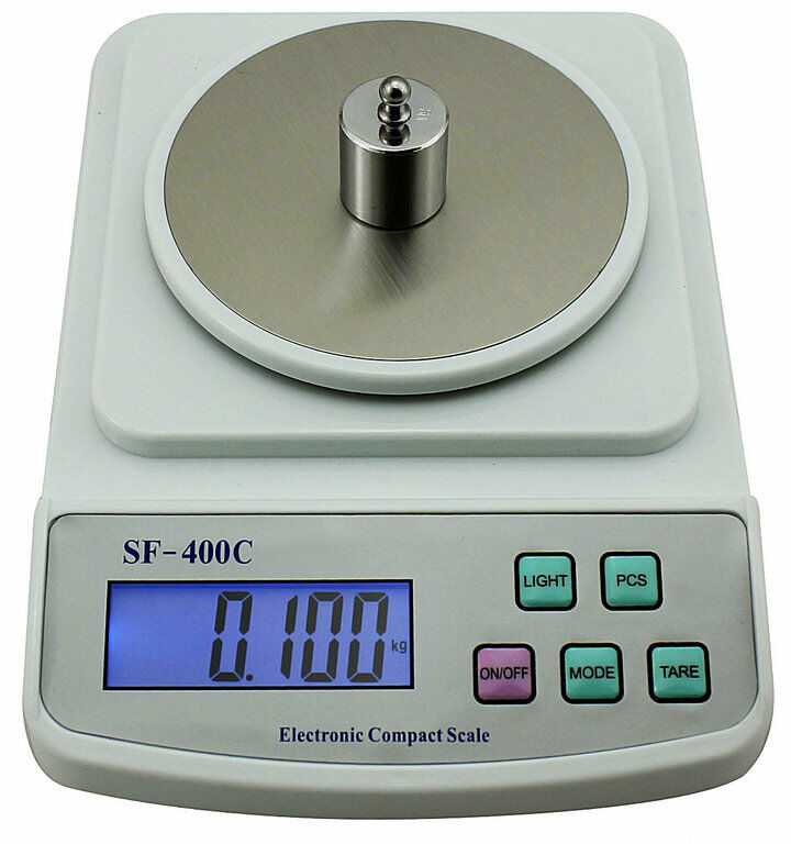 Digital Precision Weighing Scale Jewelry Gold Herb Tool Balance LCD (500g/0.01g)