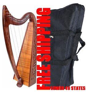 ROSEWOOD HARP Celtic Irish Harp 22 Strings Lap FOLK