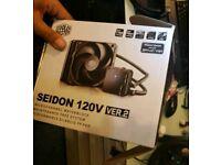 Cooler master seidon 120v Water cooler CPU cooler