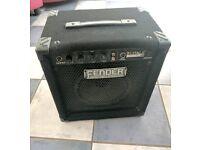Fender Rumble 15 Watt bass combo amp