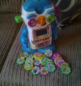 Vtech cogsley talking and learning robot rrp £59.99
