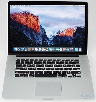 "Apple 2015 MacBook Pro Retina 15"" 2.2GHz I7 256GB SSD 16GB MJLQ2LL/A + A Grade"