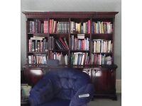 BIG Mahogany Dresser/Bookcase