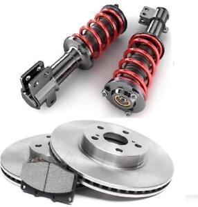 Pontiac Disques Plaquettes de Freins Frein Suspension amortisseur | Brake Disk Pads Pad suspension Brakes Shock Absorber