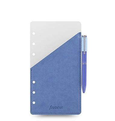 Filofax Organizer Personal Pen Holder Blue With Blue Filofax Pen - 131004