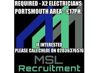 Electricians Needed In Portsmouth