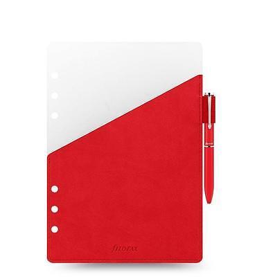 Filofax Organizer A5 Pen Holder Red With Red Filofax Pen - 341002