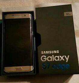 Samsung s7 edge gold unlocked