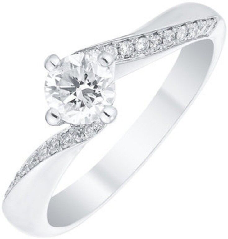 Engagement Rings Newcastle: Ernest Jones Platinum Diamond Engagement Ring